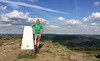 27 of 52 trig points (Ron Layters) Tags: 2017 ronlayters selfportrait 52trigpoints summer winhill trigpoint winhillpike eveninglight shortsweather summit stanage bamfordedge moorland agranddayout clouds cumulus pillar tp699 fbs4228 peakdistrict peakdistrictnationalpark hope derbyshire england unitedkingdom 52weeks 52 phonecamera iphone apple appleiphone6 selftimer tripod 10secondtimer weektwentyseven week27 27