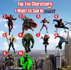 Top Ten Characters I Want to See in Marvel Future Fight (AntMan3001) Tags: top ten characters i want see marvel future fight