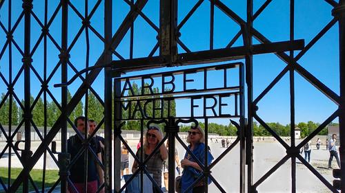 ARBEIT MACHT FREI, Dachau, 20170527