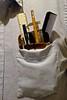 Portrait of My Pocket Protector (ricko) Tags: pocket pocketprotector shirt pens pencil ruler comb caliper nerd geek dork werehere 193365 2017