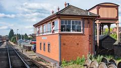 SVR 01 June 2017 (89) (BaggieWeave) Tags: shropshire worcestershire severnvalleyrailway svr trains railway heritagerailway vintage signalbox kidderminster gwr greatwesternrailway