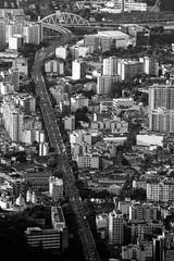 Rio de Janeiro-RJ (Johnny Photofucker) Tags: cidade city città lightroom riodejaneiro rj arquitetura architecture architettura viaduto preto branco black white nero bianco pb bw urbano urban urbanidade 70200mm brasil brazil brasile avenida avenue corso paulodefrontin
