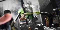 Doomsday Battle (WattyBricks) Tags: lego dc comics batman v superman dawn justice superheroes wonder woman diana prince clark kent bruce wayne doomsday krypton kryptonite