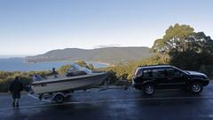 Cliffs (blachswan) Tags: tasmanpeninsula tasmania tasmansea theboat cliffs australia tasmannationalpark piratebay