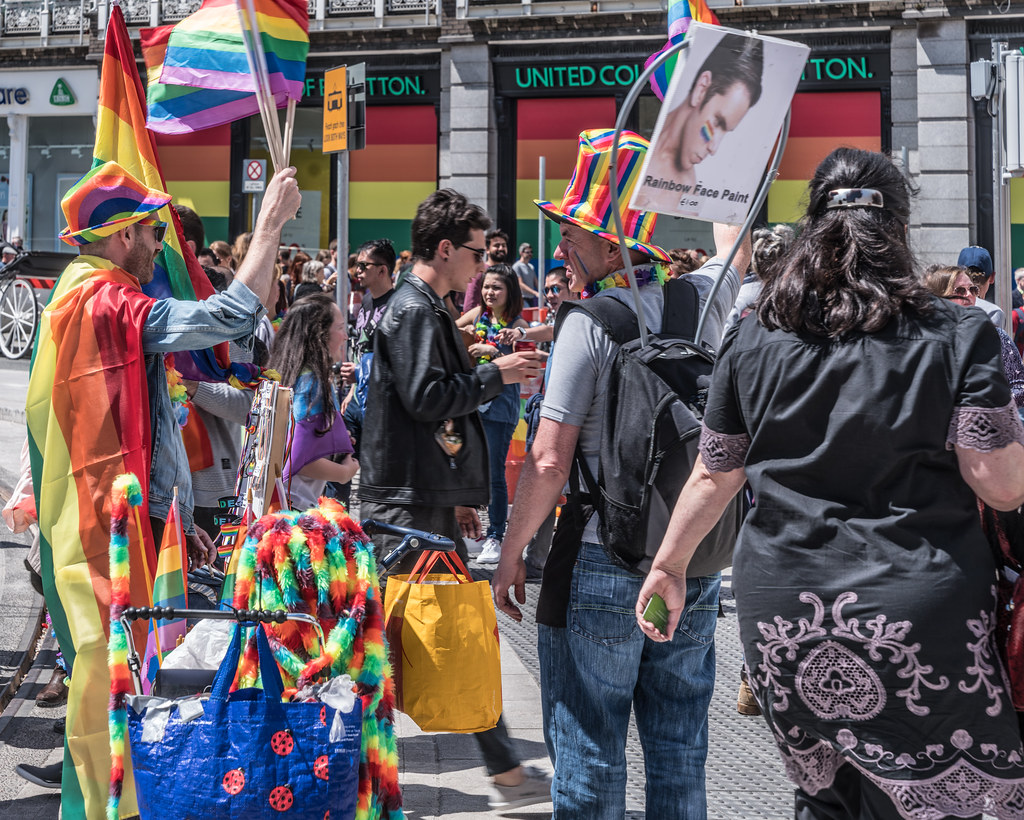 LGBTQ+ PRIDE PARADE 2017 [STEPHENS GREEN BEFORE THE ACTUAL PARADE]-129737