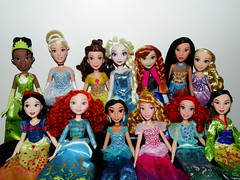 Cuz I'm a goddess and you know it (meike__1995) Tags: hasbro disney princess royal shimmer dolls new 2017 tiana cinderella belle elsa anna pochahontas snow white merida jasmine sleeping beauty ariel mulan