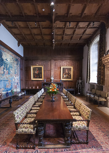 Hever Castle - Dining Hall