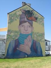 St nazaire (emilyD98) Tags: personnage maison murale fresque tag graffiti street art st saint nazaire petit maroc port chantier naval insolite mur wall urban exploration city ville