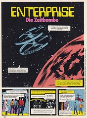ZACK / 1976 Nr. 16 / Seite 40 (micky the pixel) Tags: comics comic heft koralleverlag zack enterprise diezeitbombe startrek sf scifi sciencefiction