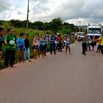 Ato indígena em Santarém thumbnail