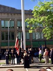 Danbury Flag Pole Rededication