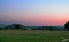 Changement de couleur (Un instant photo) Tags: sunset campaign aveyron landscape nature ciel