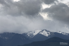 Olympic Mountains, Washington State (Don Dunning) Tags: mountain olympicmountains sequim snow unitedstates washington clouds us