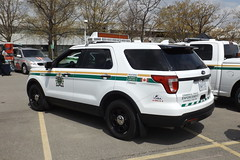 Ministry Of Ontario Commercial Vehicle Safety (car show buff1) Tags: halton regional police ford interceptor service oakville on canada utility explorer taurus chevy caprice dodge charger law enforcement crown victoria tahoe ppv opp squad rescue downtown region command mobile incident