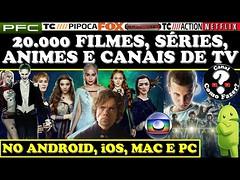 COMO TER FILMES, SÉRIES, CANAIS DE TV E ANIMES - PC, ANDROID, iOS, LINUX E MAC (portalminas) Tags: como ter filmes séries canais de tv e animes pc android ios linux mac