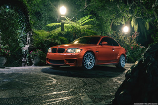 BMW 1M Valencia Orange