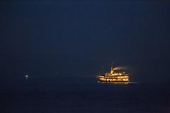 The Night Ferry (aksoykaan1) Tags: ferry sea seaside night dark kadikoy kadıköy istanbul sunset supertelephoto telephoto tamron150600 tamron canon6d canon 6d highiso iso negativespace top20mn