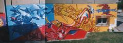Der Tilt Ceet Wespa (Bombardeur) Tags: sud ouest chrome couleur légal illégal plan vandal art urbain street peinture paint éphémère graffiti graf fresque route terrain voie férrée rail panel whole train car tag tags toulouse archives