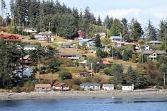British Columbia ~ coastal quaintness (karma (Karen)) Tags: canada britishcolumbia towns coastalvillage houses trees spruce topf25