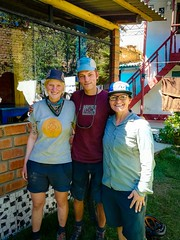 Two Germans we met in Huarez who have been cycling for 5 years.  They call themselves Tales on Tyres.