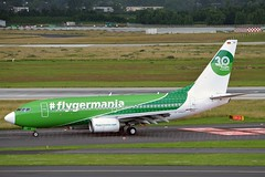 Germania D-AGER Boeing 737-75B cn/28107-27 30 Years flyGermania c/s @ EDDL / DUS 26-06-2016 (Nabil Molinari Photography) Tags: germania dager boeing 73775b cn2810727 30 years flygermania cs eddl dus 26062016