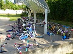 Un parking à vélo d'une école d'aujourd'hui... (Portocéan) Tags: sceaux antony chevreuse cernay orsay étangshollande