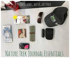 Essentials for a Day Trek (MicheleC2) Tags: uskseattle urbansketchers usk pocket watercolor essentialgear sketchkit