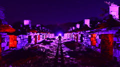 E.B.E. (martbarras) Tags: ebe extraterrestrial biological entity wales martbarras test shot cwb raw conversion halo tim gamble nikon d7100 tokina 1116mm 169 crop lightpaint lightpainting lightpainter shoreham brighton phil fisher llanberis barracks long walk night lights aliens jesus visitation stars nature reclaimed industrial urbex strobes torch silhouette flipper feet komeg lpwa lpuk