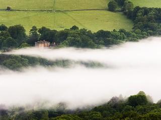 The mist at dawn