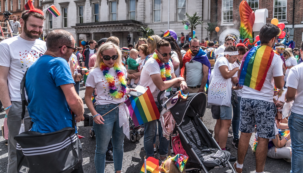 LGBTQ+ PRIDE PARADE 2017 [STEPHENS GREEN BEFORE THE ACTUAL PARADE]-129812