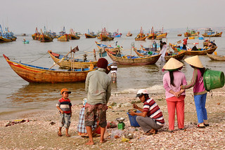 Mui Ne fishing village: life scene (DSC_1214)