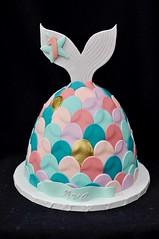 Mermaid tail cake (jennywenny) Tags: mermaid tail birthday cake