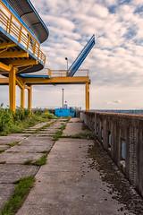 Stairway to heaven (infragrafie) Tags: deutschland nrw rügen sassnitz hafen fähranleger dock port terminal fujifilm xpro2 2314