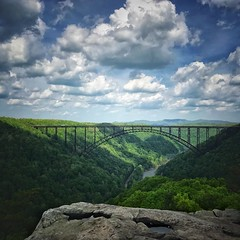 New River Gorge (BB Wylie Walden) Tags: clouds newrivergorge westvirginia newrivergorgebridge