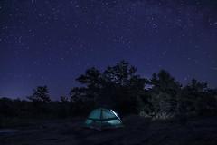 Love under the stars. (Iskou-Hee) Tags: starrynight muskoka ontario canada tent iskouhee