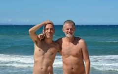 Summer memories (mikael_on_flickr) Tags: summermemories beiricordi memories sardegna sassari friends amici beach spiaggia strand mare hav meer sea guys ragazzi men uomini franco s platamona