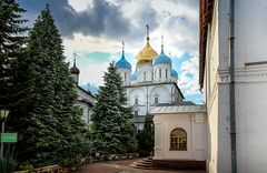 Church (svklimkin) Tags: church religious building monastery architecture christianity cloud