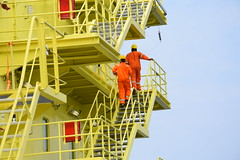 Offshore Cape Three Points (An energy company) Tags: azienda ghana octp descalzi fpso people sankofa offshore kufuor eni