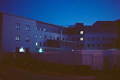 20170601 (Johann Kööp) Tags: 35mm colour film uk coventry surreal blue hour ektar canon city urban night late dark darkness building house lights shootfilm explore walk grain colours colourful filmphotography