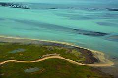 Ölfusá Delta Stream (colin grubbs) Tags: ölfusá olfusa river iceland stream tributary delta sediment ocean minerals water helicopter travel