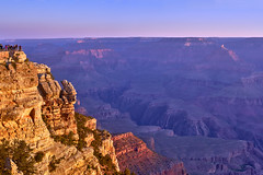 Grand Canyon Sunrise Panorama (W_von_S) Tags: grandcanyon sunrise sonnenaufgang arizona usa us america amerika landschaft landscape panorama paysage paesaggio natur nature nationalpark southwest südwesten wvons werner outdoor sony june juni 2017