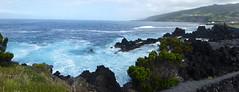 San Roque do Pico Panorama 170611_252 (jimcnb) Tags: 2017 juni urlaub azoren azores açores pico picoisland sanroquedopico coast rocks brandung