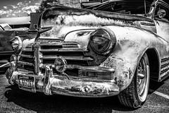 Rat Rod (Chris Parmeter Photography) Tags: monochrome blackwhitehdr rat rod car old chevy black white bw texture detail fuji xt2 18135mm
