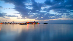 Jamaica_340 (allen ramlow) Tags: montego bay jamaica travel summer evening sunset night long exposure sony a6500 ocean water sky clouds