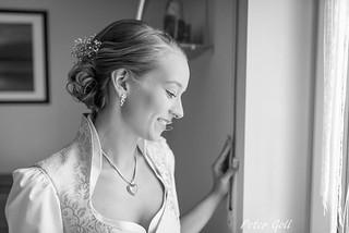Bride, getting ready