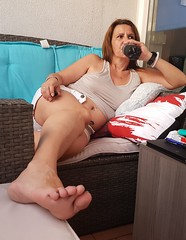 sexy mom (Tina-mom of two) Tags: sexywife sexy sexymom feet wife woman hot mom