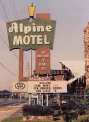 Alpine Motel Sign - Anaheim, Calif. (hmdavid) Tags: anaheim motel sign design disneyland neon 1950s 1960s alpine