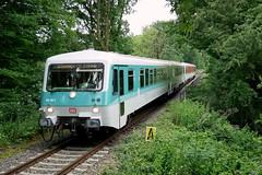 P1230496 (Lumixfan68) Tags: eisenbahn züge triebwagen baureihe 628 dieseltriebwagen vt db museum syltshuttle deutsche bahn regio hein schönberg schwentinebahn