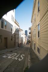 Coit Tower Walk (mark.hogan) Tags: california coittower northbeach sanfrancisco architecture stairwaywalk