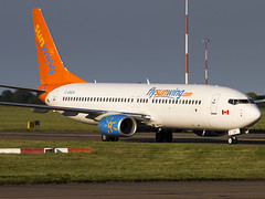 Sunwing Airlines | Boeing 737-81D(WL) | C-GNCH (Bradley at EGSH) Tags: egsh nwi norwichairport norwich norfolk canon70d aircraft air aviation airplane airport plane photgraphy flying 737 tui thomsonairways canada sunwingairlines boeing73781dwl cgnch